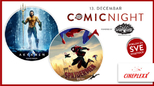Comic night u Cineplexx bioskopima